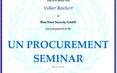Procurement Seminar UN Bonn