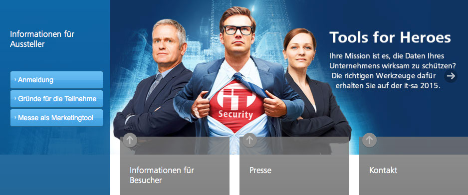 IT-SA IT-Security-Messe 2015