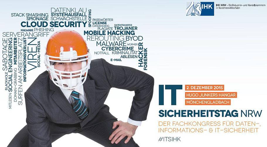 Blue Frost Security besucht den IT-Sicherheitstag NRW 2015