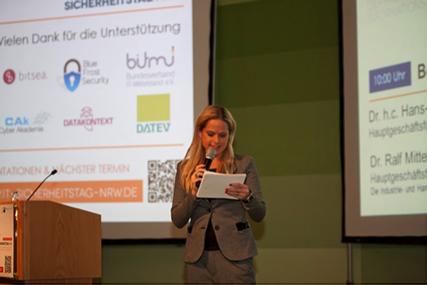 Blue Frost Security war als Aussteller auf dem IHK-Sicherheitstag NRW 2014 vertreten