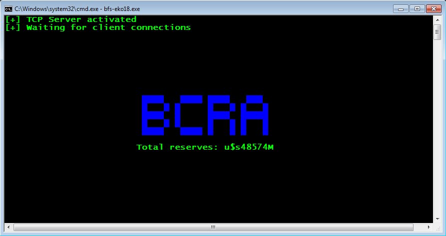 BCRA reserves